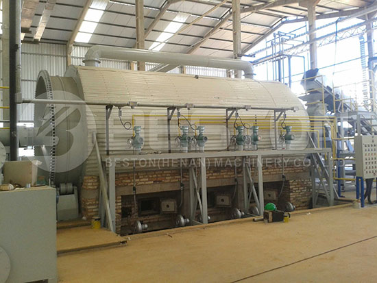 Waste Tyre Pyrolysis Plant in Brazil
